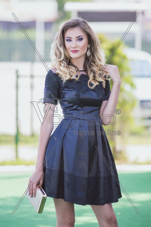 Rochie Scurta Neagra Anabelle