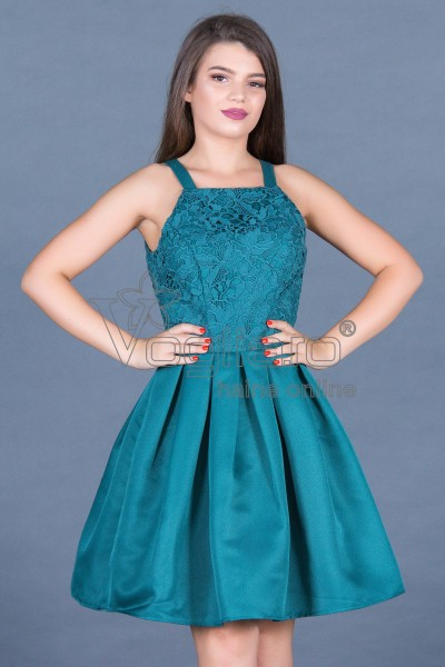 ROCHIE SCURTA COCKTAIL TURQUOISE
