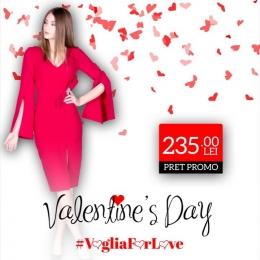 ❤️Alege-ti tinuta pentru Valentine's Day la un super pret🥰😍!!! ⏩Intra pe www.voglia.ro si descopera sute de modele.⏪ #vogliaforfashion #VogliaForLove #fashion #rochiirosii #valentines_day #february #lunaiubirii #hainedama  #reduceri #cadouri #cadou #rosu