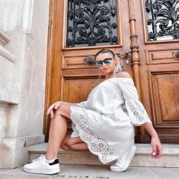 ☀️ SUMMER INSPO ☀️ www.voglia.ro  #fashion #vogliaforfashion #outfitinspo #fashionstyle #romania #dressoftheday #shooting #fabricatinromania #rochii #summeroutfit #bucuresti #brasov #constanta